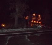 Night view w/ accent lighting